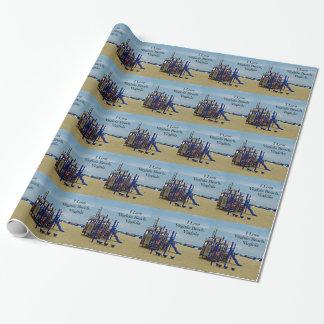 Souvenir of Virginia Beach, Virginia Wrapping Paper