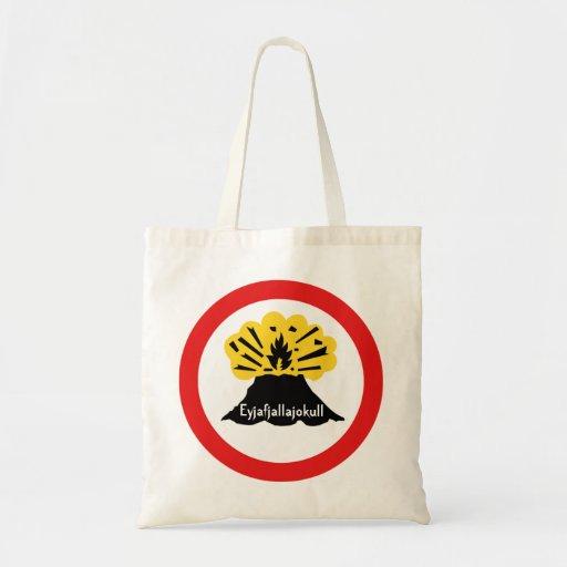Souvenir of 'Your Volcano Here' Bag