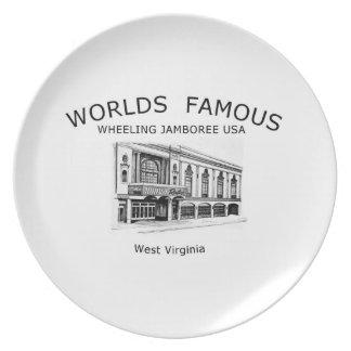 Souvenir Plate depicting Capitol Music Hall
