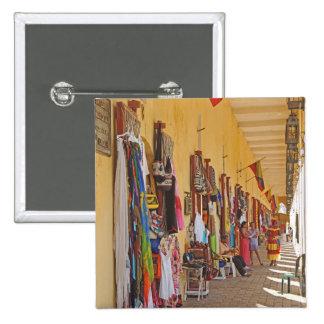 Souvenir Shops in Cartagena Colombia Button