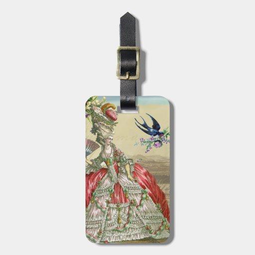 Souvenirs de Versailles (detail) Luggage Tags