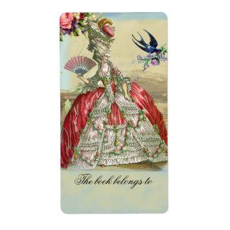 Souvenirs de Versailles Shipping Labels