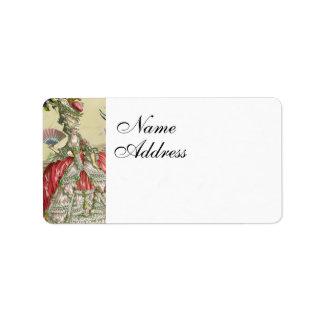 Souvenirs de Versailles Personalized Address Labels