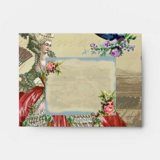 Souvenirs de Versailles Notecard Envelope
