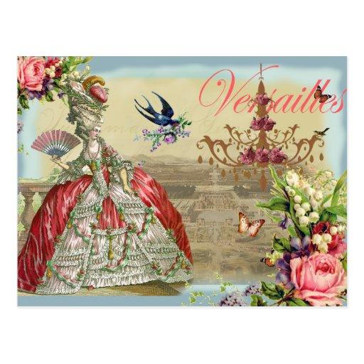Souvenirs de Versailles Post Card