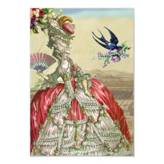 Souvenirs de Versailles  rsvp Card