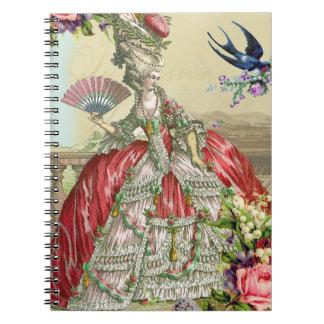 Souvenirs de Versailles Spiral Note Book