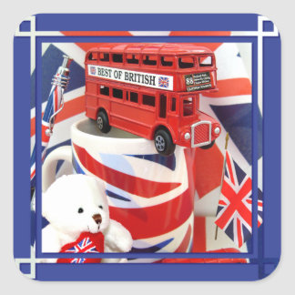 Souvenirs ~ Envelope Sealer/Sticker Square Sticker