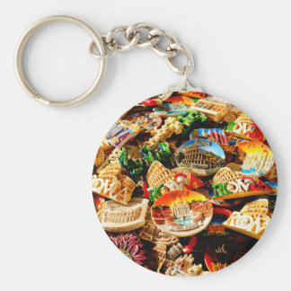 Souvenirs from Rome Keychain
