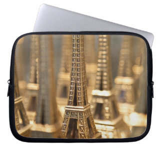 Souvenirs of Eiffel Tower Laptop Sleeves