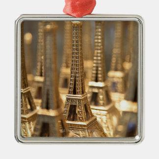 Souvenirs of Eiffel Tower Metal Ornament