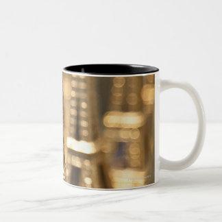 Souvenirs of Eiffel Tower Two-Tone Coffee Mug