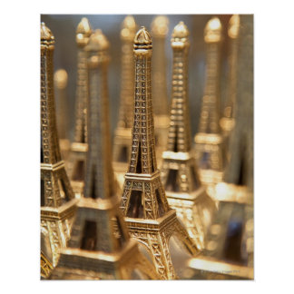 Souvenirs of Eiffel Tower Posters