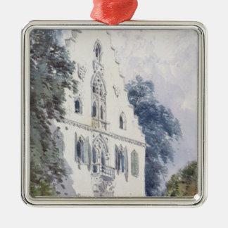 Souvenirs of Rosenau Metal Ornament