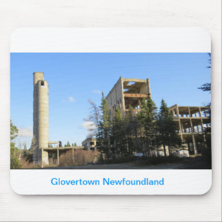 Souviner Of Glovertown Newfoundland Mouse Pad