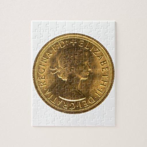 Sovereign 1963 del oro puzzles con fotos