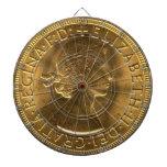 Sovereign 1963 del oro tablero de dardos