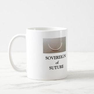 SOVEREIGN de la taza de café de la SUTURA