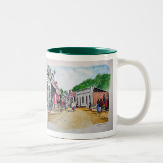 Sovereign Hill 2 Two-Tone Coffee Mug