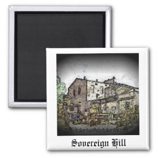 Sovereign Hill Refrigerator Magnets