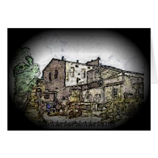 Sovereign Hill Stationery Note Card