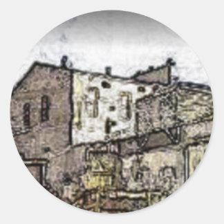 Sovereign Hill Round Sticker
