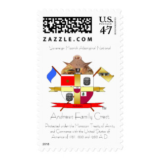 Sovereign Moorish Aboriginal National Stamp