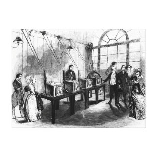 Sovereign Weighing Machine, Bank of England Canvas Print