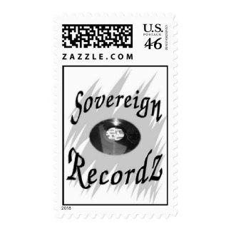 SovereignRecordz Postage Stamp
