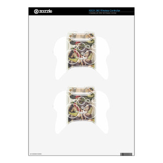 Sovereigns No.50 Caricature of Sultan Abdul Aziz Xbox 360 Controller Skin