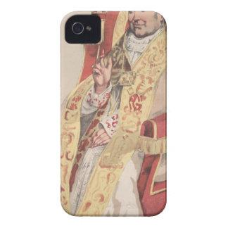 Sovereigns No.60 Caricature of Pope Pius IX iPhone 4 Case-Mate Case