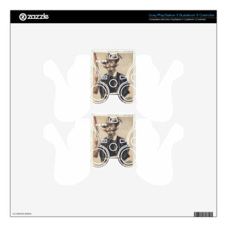 Sovereigns No.70 Caricature of M Victor Emmanuel Decal For PS3 Controller