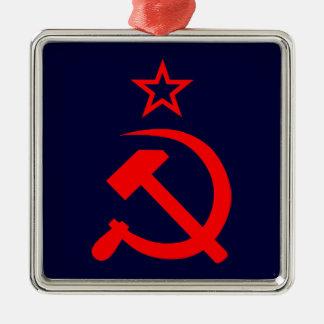Soviet 2 metal ornament