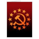 Soviet 3 greeting card