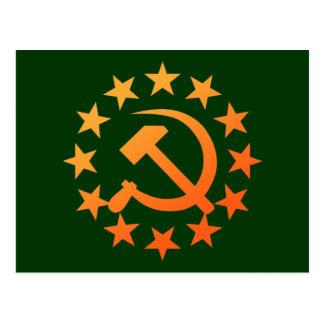 Soviet 3 postcard