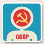 soviet astronaut beverage coasters