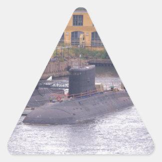 Soviet Attack Submarines Triangle Sticker