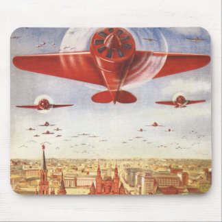 Soviet Aviation Mouse Pad