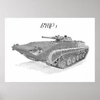 Soviet BMP-1 Poster