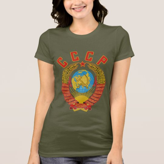 Soviet Coat of Arms CCCP women's t-shirt
