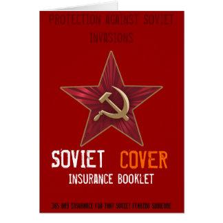 Soviet Cover 365 Insurance Card