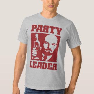 Soviet del líder de fiesta de Vladimir Lenin Poleras