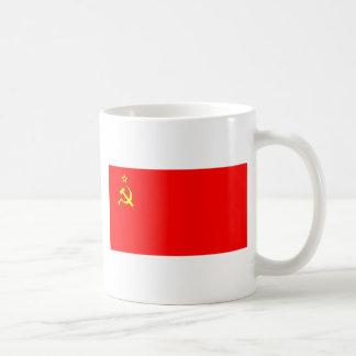 soviet flag mug