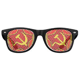 Soviet Hammer and Sickle Retro Sunglasses