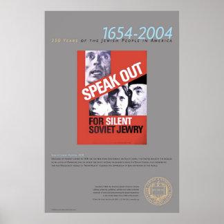 Soviet Jewry Poster, 1978