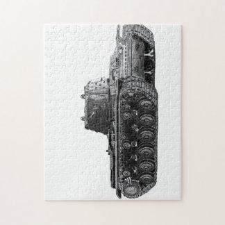 Soviet KV1 tank jigsaw Jigsaw Puzzles