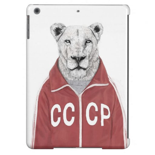 Soviet lion cover for iPad air