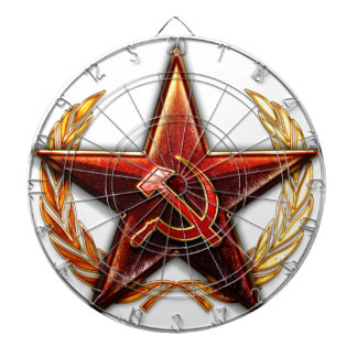 Soviet Logo Dartboard