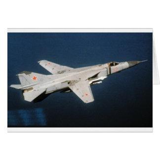 Soviet MiG-23 Flogger Card