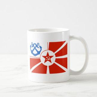 Soviet Navel Flag Classic White Coffee Mug